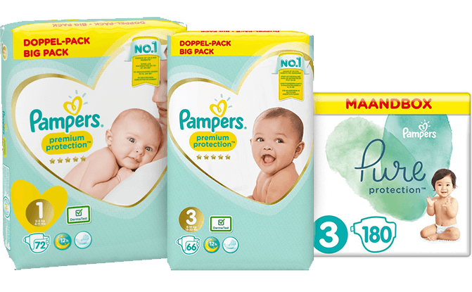promotie Pampers