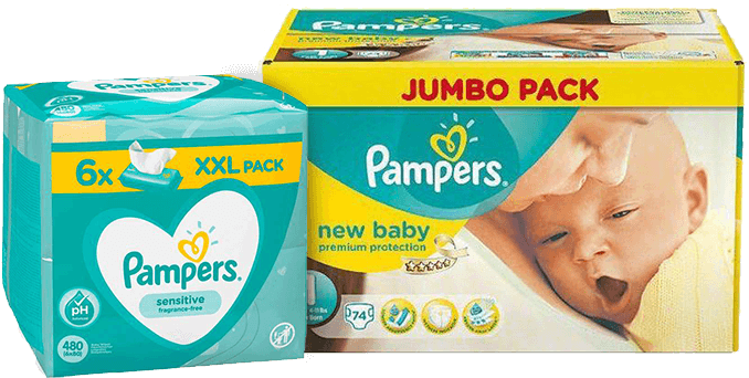 Pampers promoties