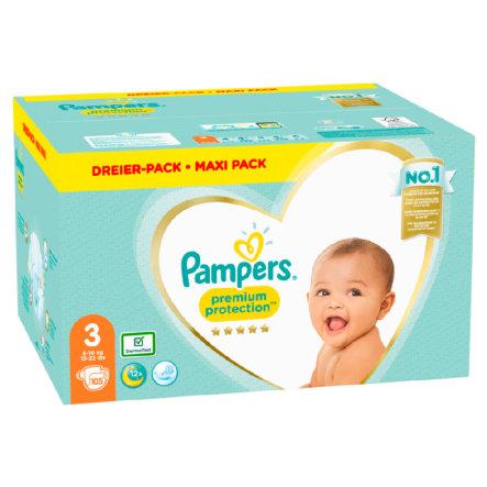408 St/ück Gr/ö/ße 3 Baby Windel 3 Doppelpack Baby Windeln Premium Care 3 5-9kg